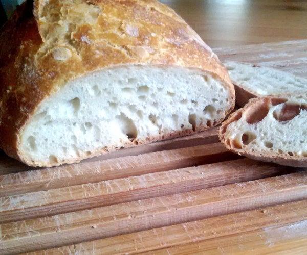 No Knead   Homemade Bread Recipe