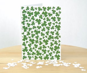 Clover Patch Card