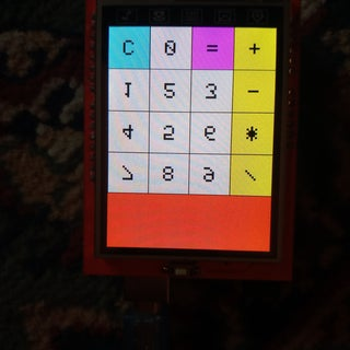 DS1302 Clock With a 2.4 TFT LCD