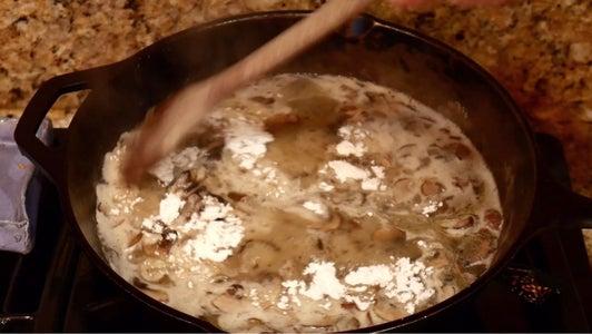 Wet Ingredients & Flour