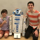 Moving R2-D2 With Live Video From R/C Car