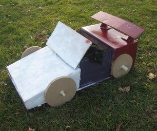 Cardboard Race Car