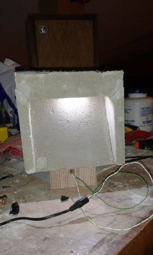 Concrete Stackable Lamp