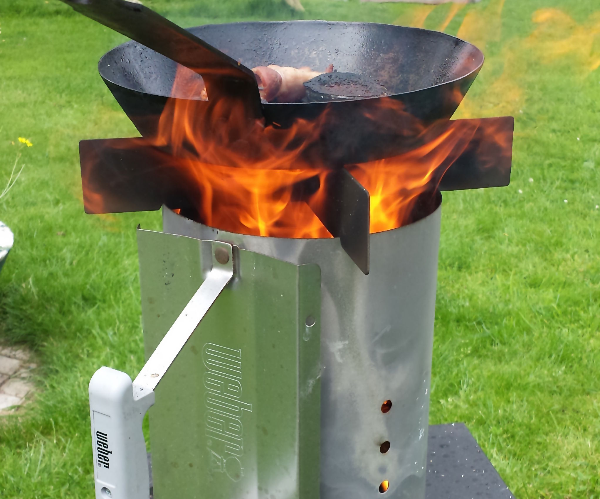 Hack a Weber Rapidfire® into an Awesome Woodstove®