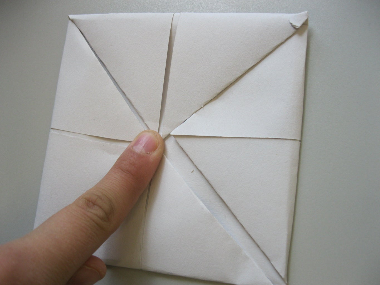 Folding Second Set of Corners