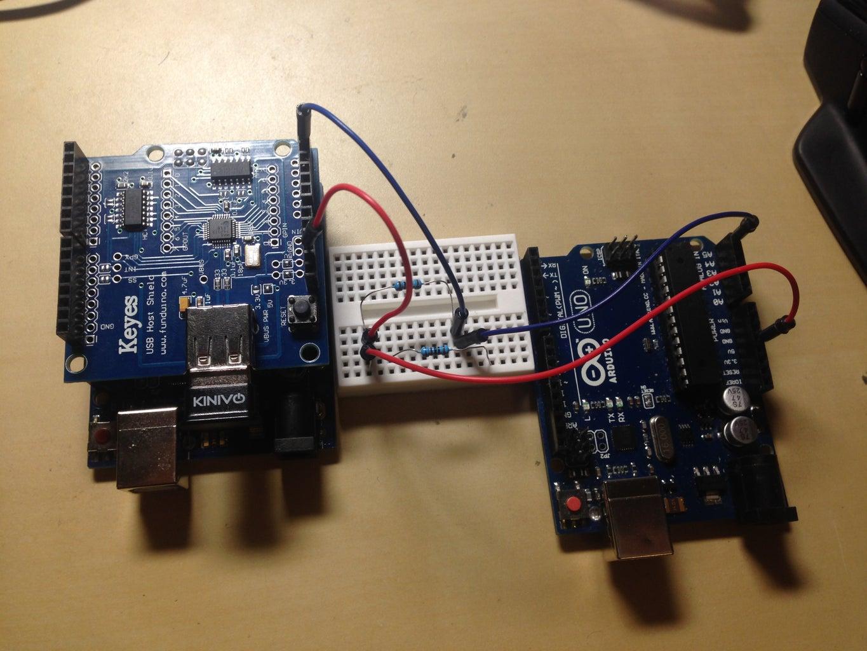 Test the Basic I2C Communication Between 2 Arduinos
