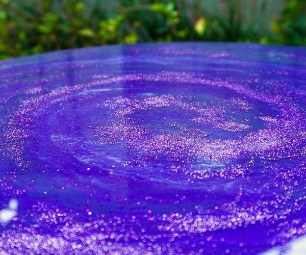 DIY Galaxy Epoxy Tabletops