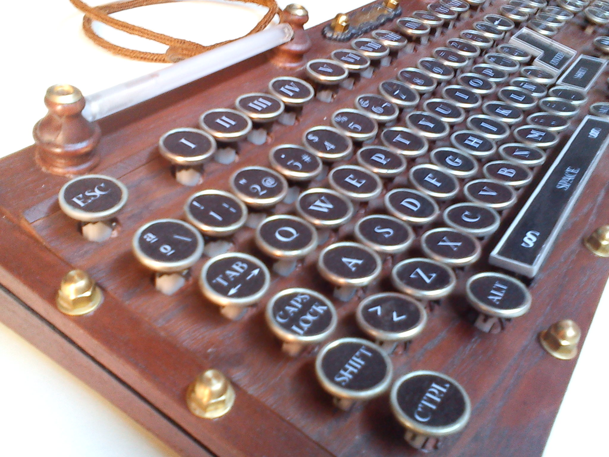 My Steampunk Keyboard version