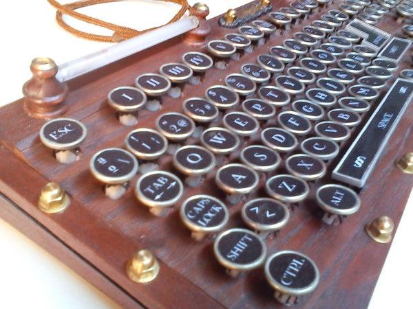My Steampunk Keyboard Version