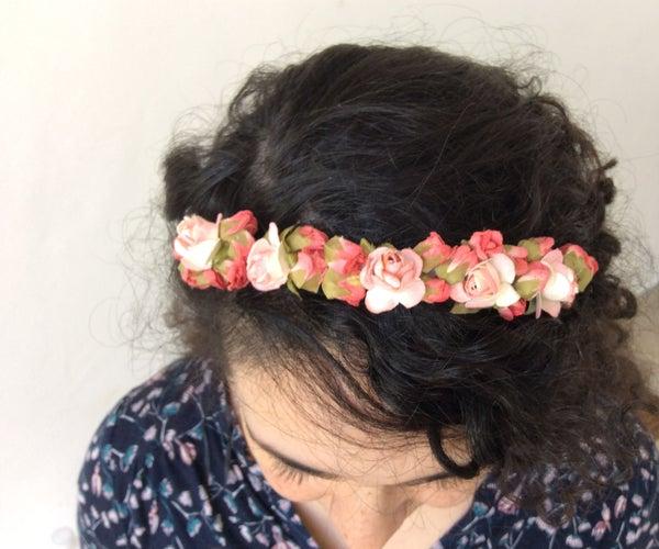 Boho Flower Headband