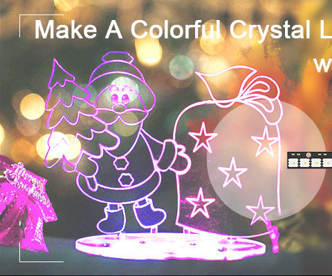 How to Make a Colorful Crystal Lamp With Micro:bit