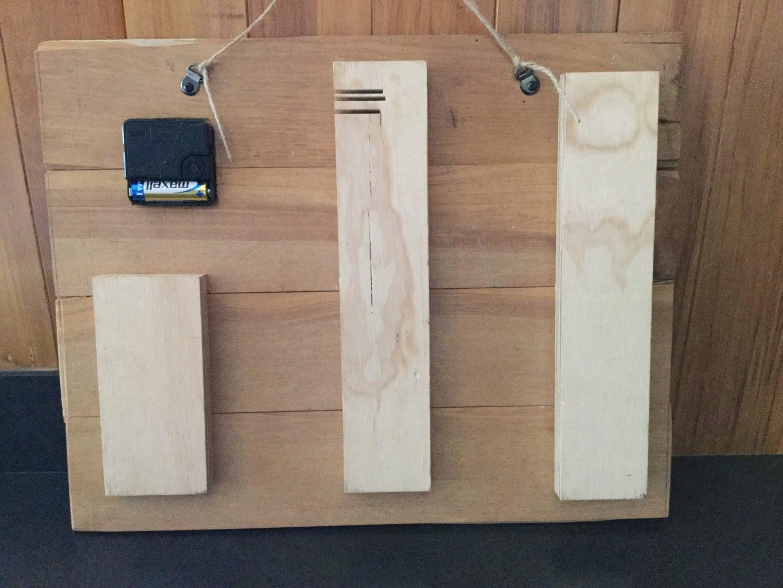 2. Glue the Wood