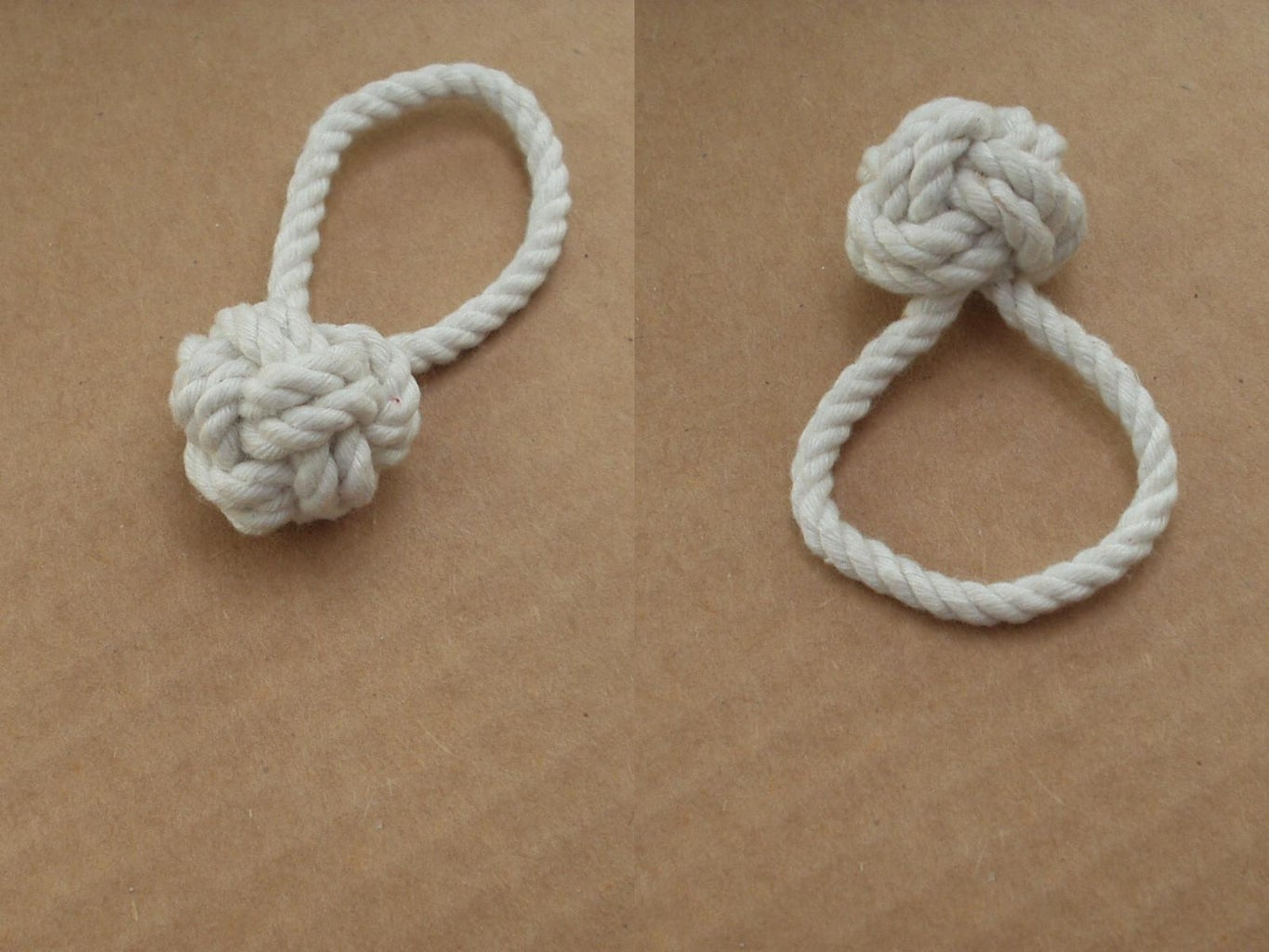 Two Strand Button Knot