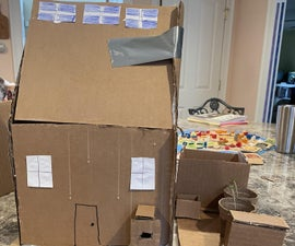 Intro+ Supplies How to Build a Cardboard House