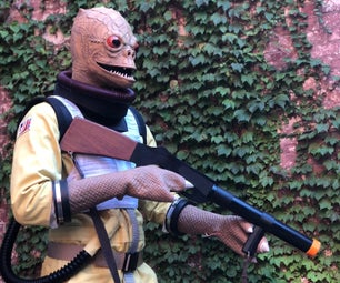 Making a Bossk Costume! (from Star Wars)