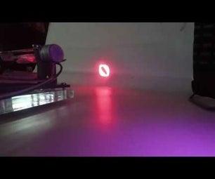 Laser Show From CD Stepper Motors