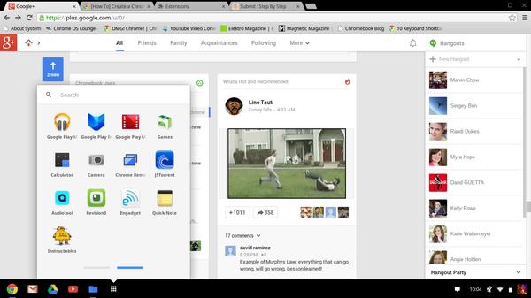 """Create a Custom Chrome OS/Chromebook """"App"""""""