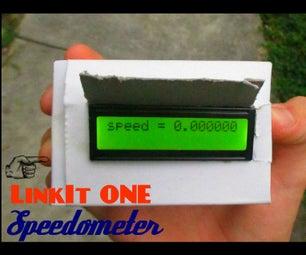 MEDIATEK LinkIt ONE Speedometer