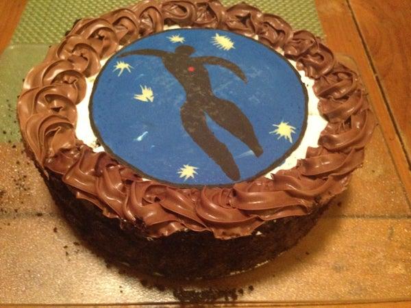 Whipped Cream Cookie Cake