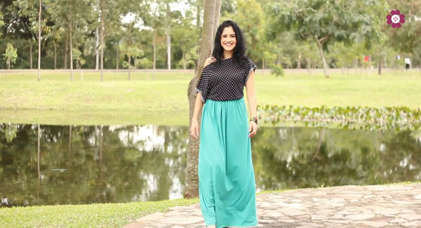 How to Make a Stylish Maxi Skirt