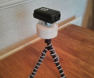 3D Printed Panning Time-lapse Mount (from an Egg Timer!)