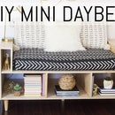 DIY Mini Daybed