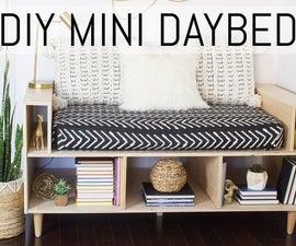 DIY Mini Daybed