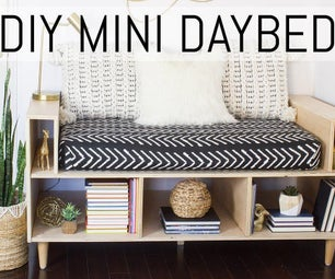 DIY MINI Daybed.