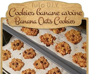{ BANANA OATS COOKIES }