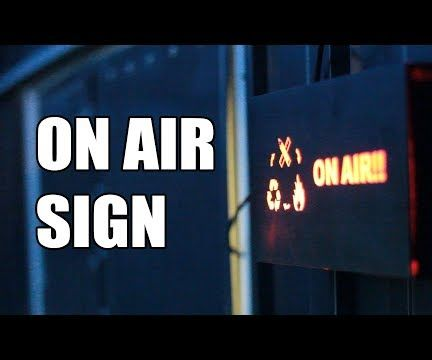 LED on Air Sign