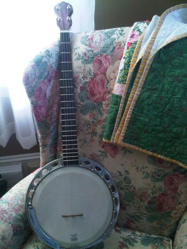 Antique Banjo Restoration.