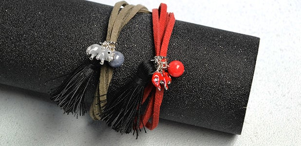 Here Is the Final Look of the Couple Bracelets: