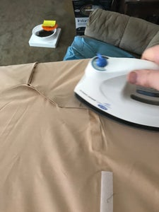 Measure and Cut Material for Shirt