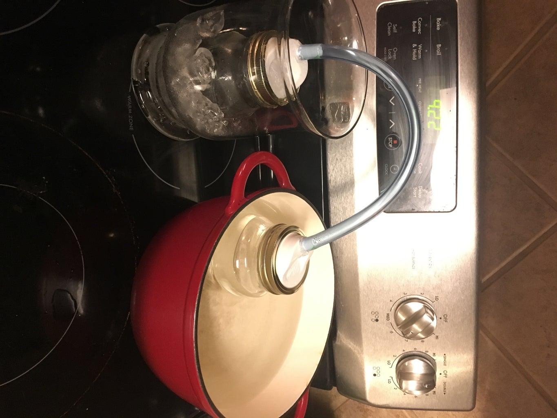 Preparing the Dutch Oven