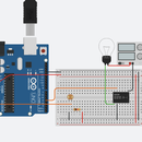Arduino Relay Activated Lamp