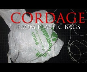 How to Make Cordage From Plastic Bags