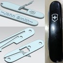 3D Printed Customized 91mm Swiss Army Knife (SAK) Scales