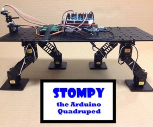 Arduino Quadruped Robot
