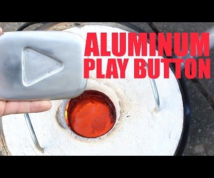 Lost Foam Casting - YouTube Play Button
