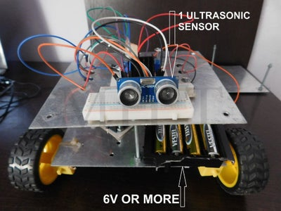 How to Create an Obstacle Avoiding Arduino Robot