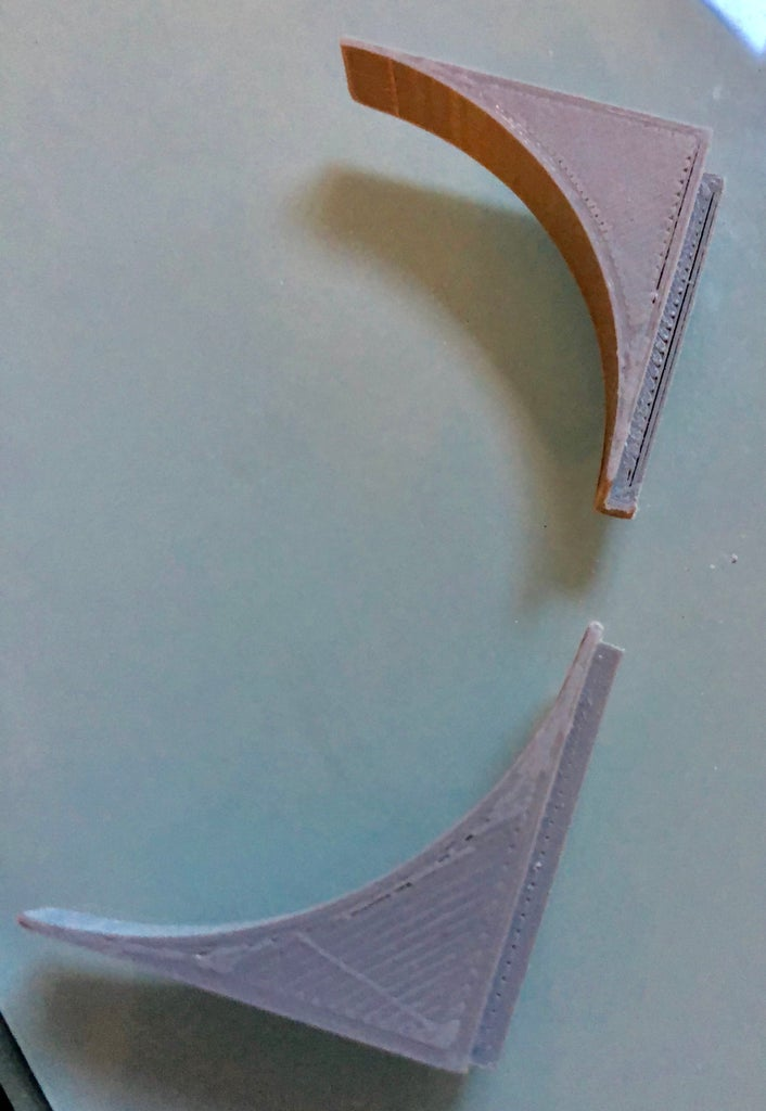 Print the Corners to Support the LED Strip
