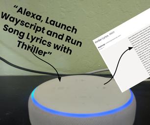 """Alexa,将歌词发送给_____"""