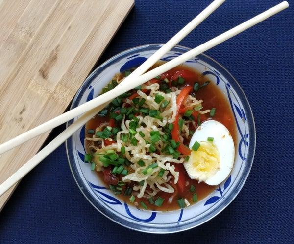 20-minute Asian Chopsuey (crunchy!)