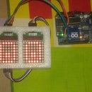 LED Eye Blinking for Robot