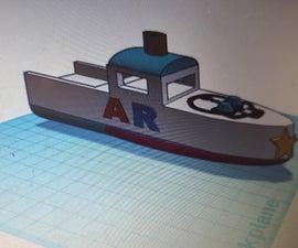 3D Print Boat.