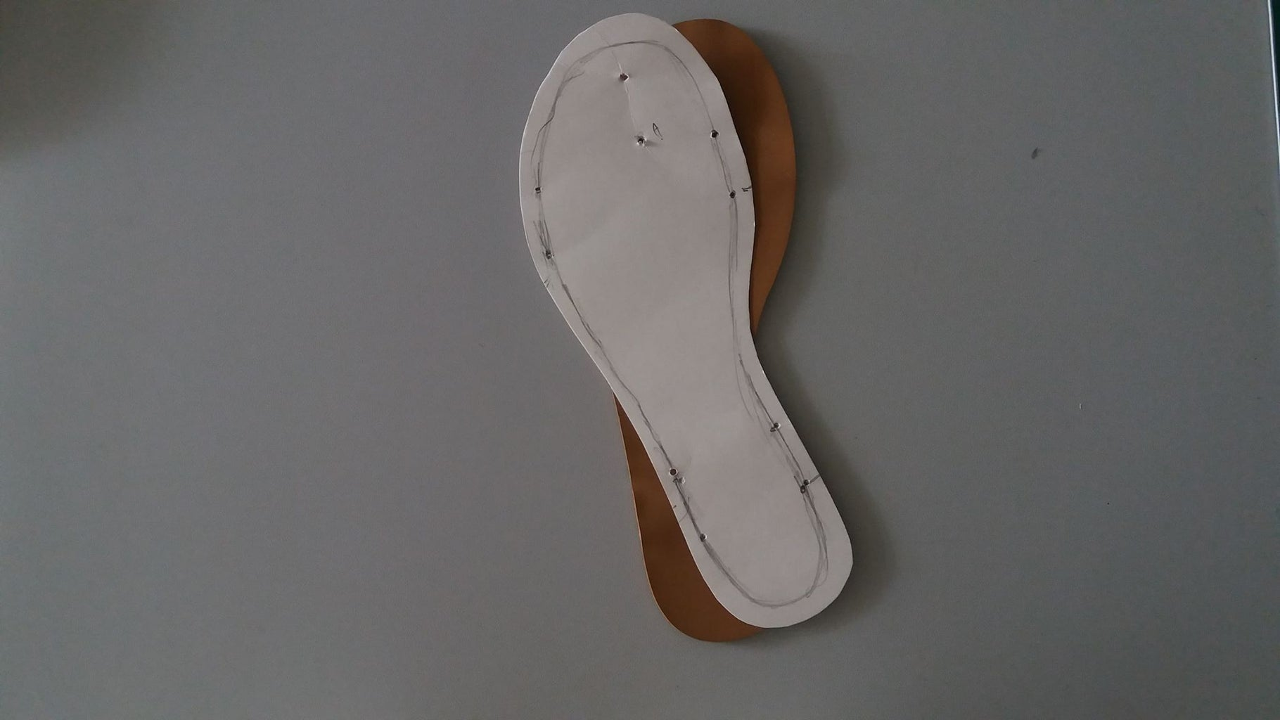 Step 2: Making the Shoe Plantilla