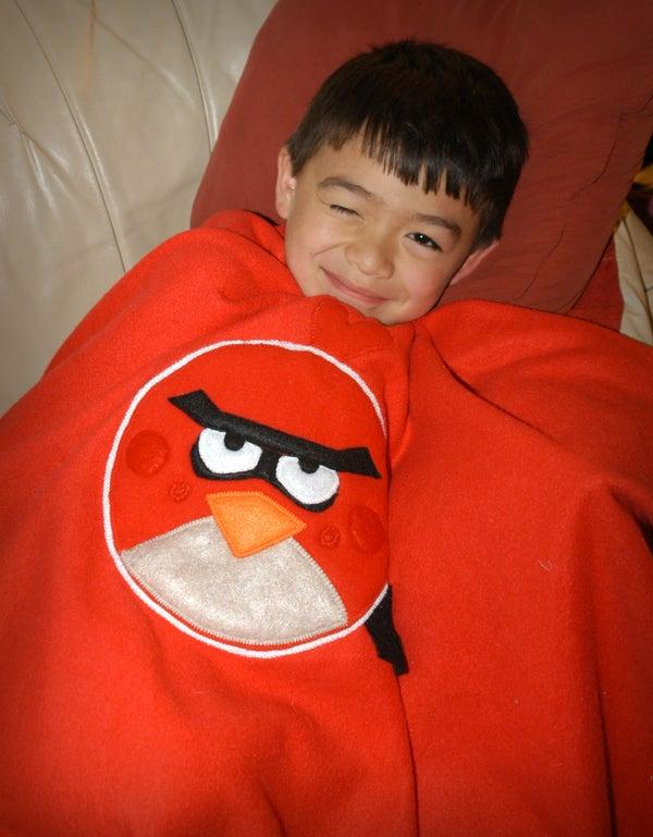 Angry Birds Fleece Blanket & Full Pattern