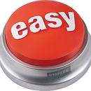 Make an Easy Button Tweet the Hard Way