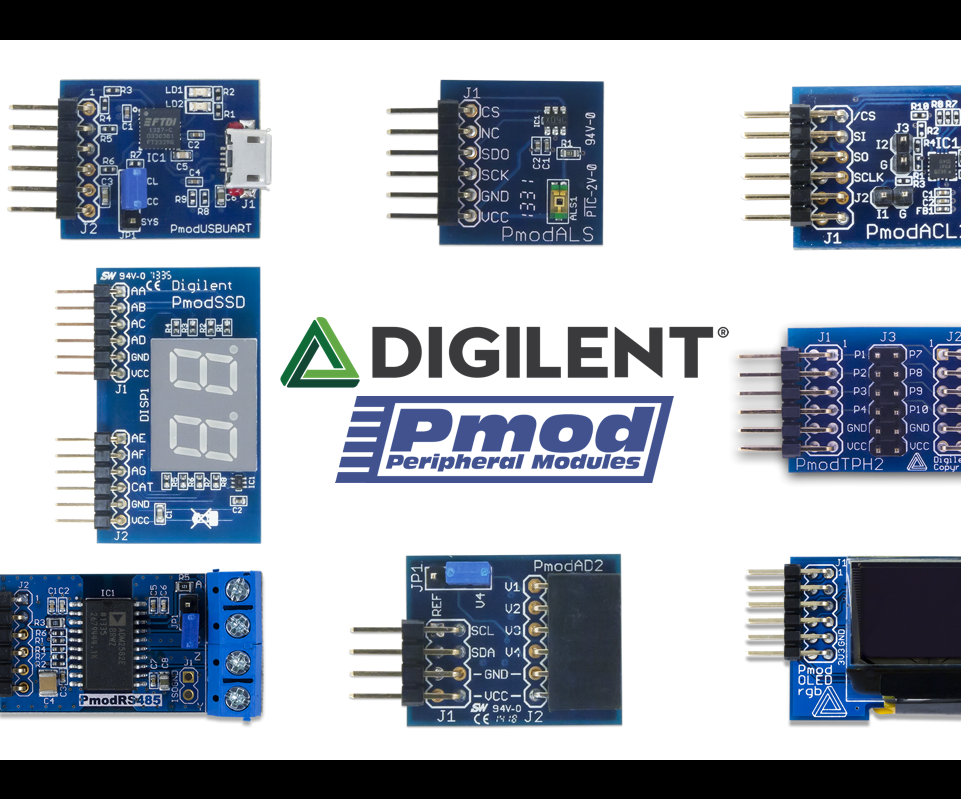 Using Pmods in LabVIEW