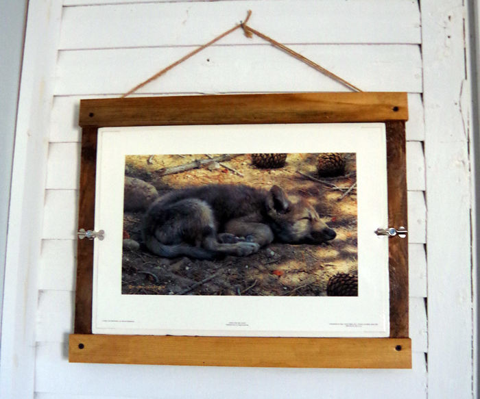 Farmhouse Picture Frame – Easy Wood Working DIY Using Barnwood